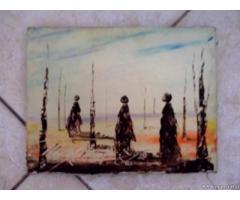 Quadro del pittore Orazio Giuliani - Puglia