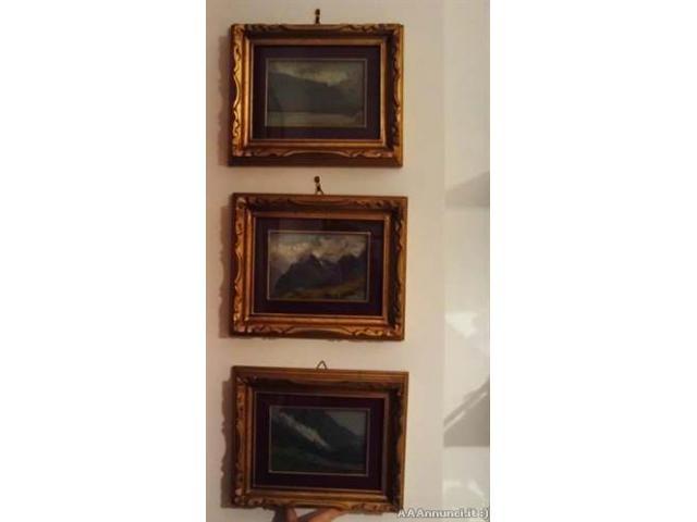 Tre quadri del pittore G. Colombo - Puglia