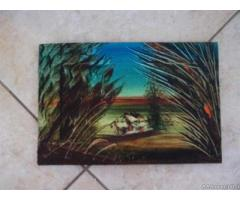 Tre quadri con paesaggi - Puglia