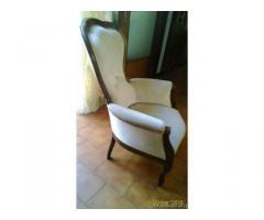 Poltrona stile luigi xvi - Vercelli