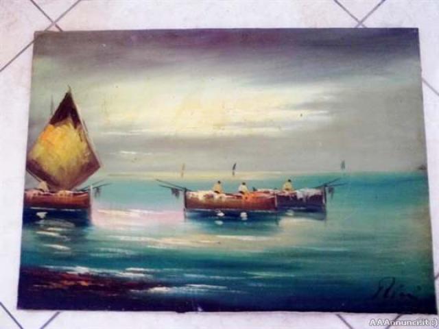 Quadro del pittore Rini - Puglia