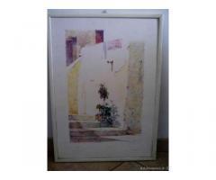 Quadro del pittore S. Giannini - Puglia