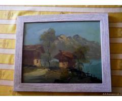Quadro con paesaggio - Puglia
