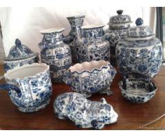 Collezione di vasi in porcellana CHING - Milano