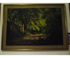 Quadro del pittore D. Simone - Puglia