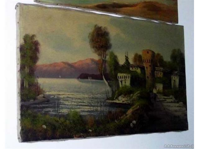 Quadro del pittore G. Viani - Puglia