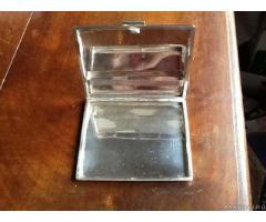 Portasigarette degli anni'40/'50,in argento 800 - Vicenza