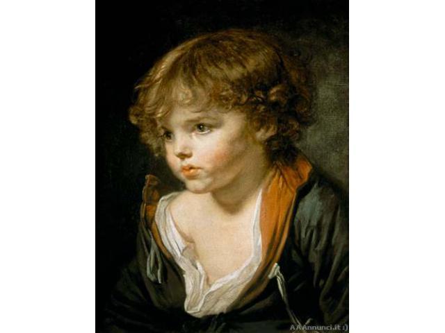 Stampa su tela di Jean Baptiste Greuze - Puglia