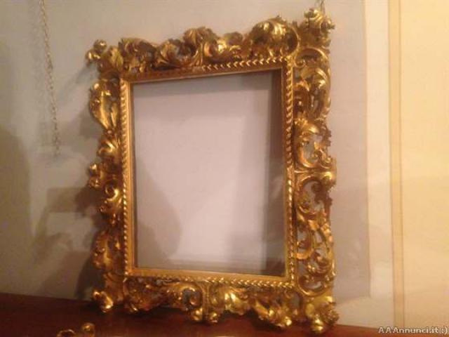 Specchiera in Oro. - Firenze